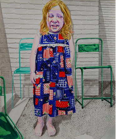 Painting, Serminaz Barseghian, Gigili, 2017, 41994