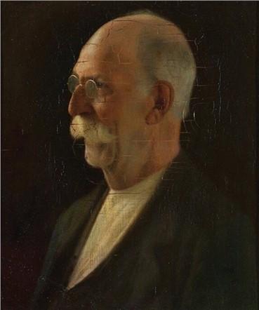 , Mohammad Ghaffari, Self Portrait, 1925, 15011