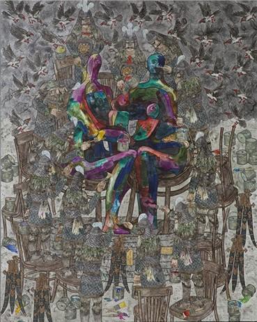 , Aliakbar Sadeghi, Moor, 2015, 6226