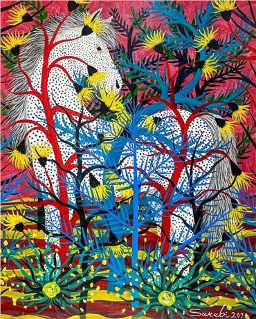 Painting, Mostafa Sarabi, Untitled, 2020, 29820