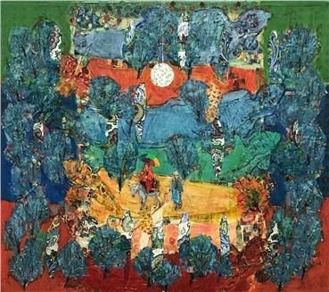 Painting, Ane Mohammad Tatari, Love, 2020, 25794