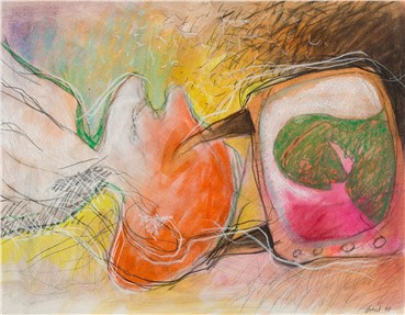 Works on paper, Wahed Khakdan, Untitled, 1993, 16603