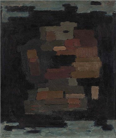 Painting, Mansour Ghandriz, Abstraction, 1964, 36009