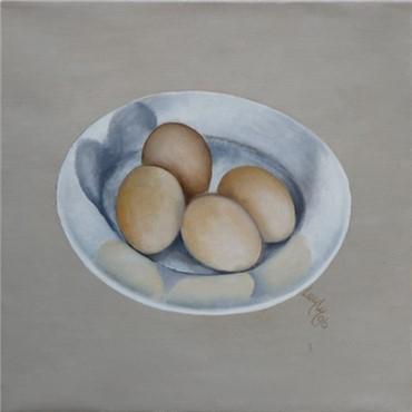 , Leyly Matine Daftary, Eggs IV, 1996, 8189
