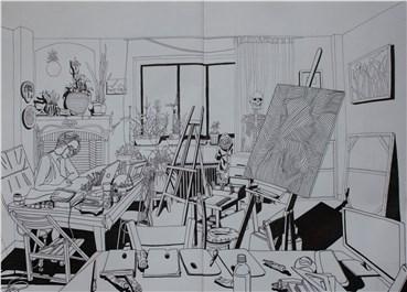 Works on paper, Serminaz Barseghian, Untitled, 2020, 27215