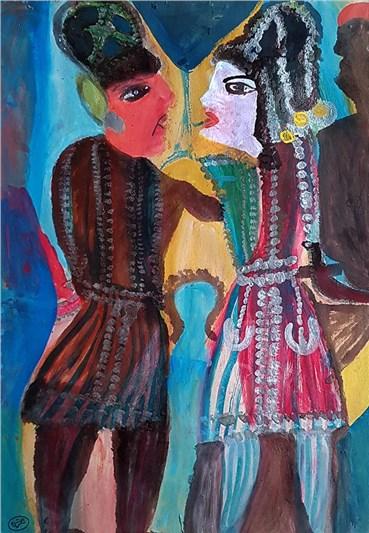 Painting, Mokarameh Ghanbari, Untitled, , 36884