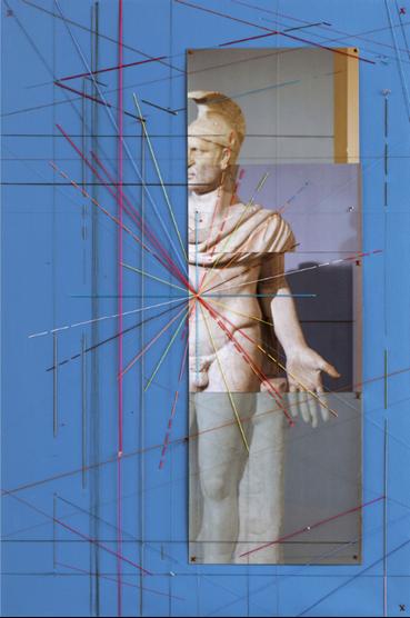 Farsad Labbauf, Warrior, Study, 2020, 9862