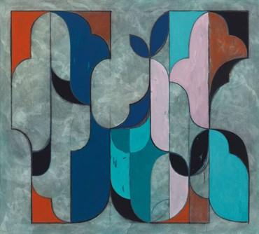, Kamrooz Aram, Untitled (Arabesque Composition), 2020, 45674