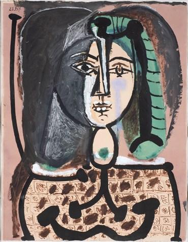 , Pablo Picasso, Femme au tablier, 1949, 50647