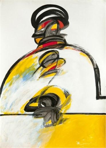 Painting, Koorosh Shishegaran, Portrait, 1997, 20295