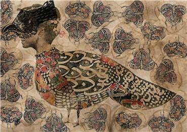 , Mohammad Barrangi, Masked Peacock, 2020, 26178