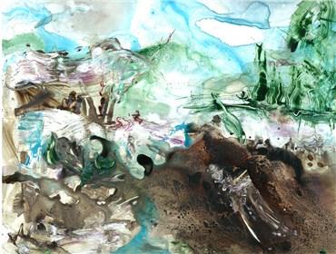 , Saba Farhoudnia, My Ink Dripped In The Battlefield, 2020, 36066