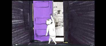 , Tala Madani, The Door, 2019, 26246