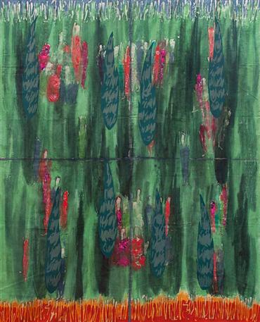 Mixed media, Ane Mohammad Tatari, Untitled 19, 2004, 33873