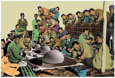, Amin Roshan, Lunch Table, 2014, 10950
