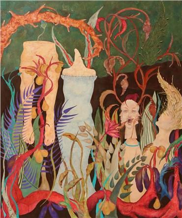 , Faxteh Shamsian, Blossoming Animals, 2019, 34802