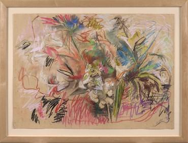 , Mary Abbott, Blue Thistle, 1960, 47965