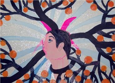 , Ala Dehghan, Forest God, 2010, 16926