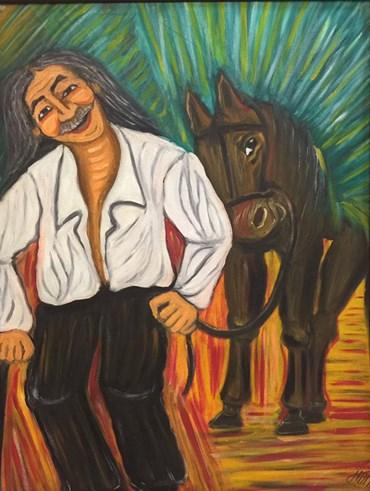 , Farzin Fakhr Yaseri, Me & My horse, 2016, 45325
