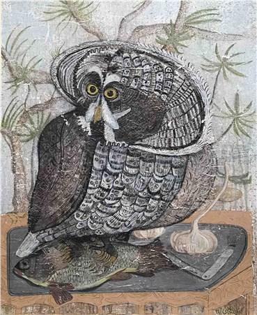 , Hadi Alijani, Owl, 2020, 35555