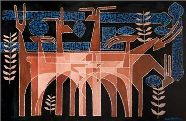 , Hadi Hazavei, Untitled, 1963, 6041
