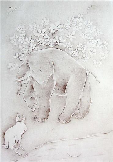Works on paper, Mehdi Hosseini, Untitled, , 19827