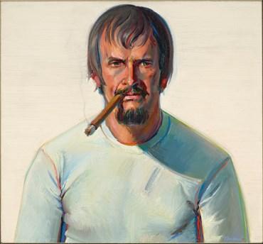 , Wayne Thiebaud, Man with Cigar, 1975, 50644