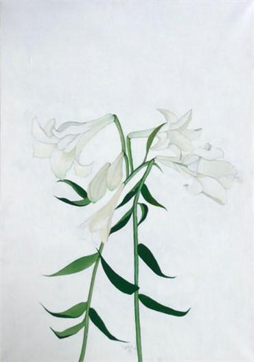 , Leyly Matine Daftary, Lilies, 2003, 8213
