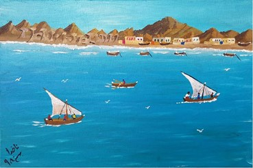 Painting, Nakhoda Abdolrasoul Gharibi, Untitled, 2020, 49026