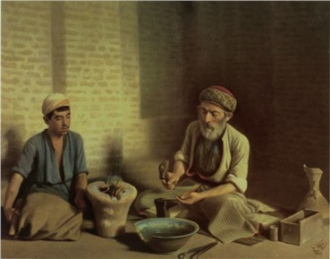 , Mohammad Ghaffari, Zargar Baghdadi, 1901, 6608