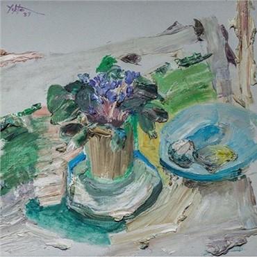 , Manoucher Yektai, Untitled, 1987, 7534
