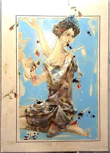 Painting, Mohsen Jamalinik, Untitled, 2015, 2208