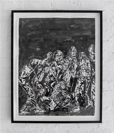 , Nikzad Nodjoumi (Nicky), Aggression, 2017, 20247