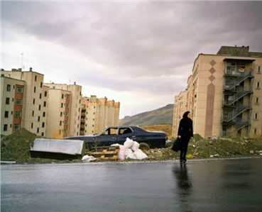 Photography, Newsha Tavakolian, Again Me Standing in the Cold, Alone, 2010, 8106