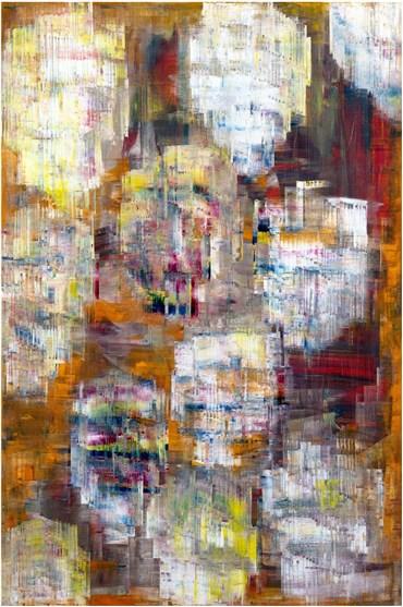 , Sassan Behnam Bakhtiar, White Immortal Rose Garden, 2020, 28150