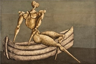 Painting, Bahman Mohassess, Untitled, 1966, 4135