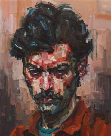 Painting, Salman Khoshroo, Farsam, 2013, 5607