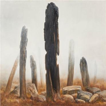 , Kazem Chalipa, The Burned Garden, 2008, 17171