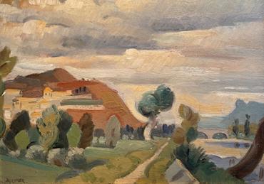 , Andre Lhote, Village de lea Drome, 1928, 47650