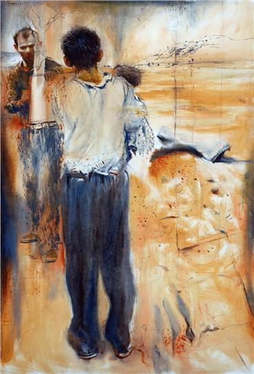 Painting, Omid Moshksar, Untitled, 2009, 15206