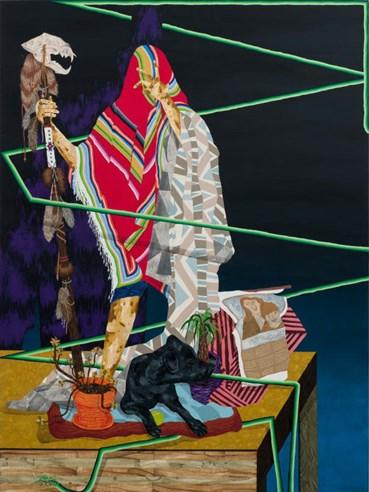 Amir H Fallah, The Indigenous Hunting Ritual, 2011, 10139