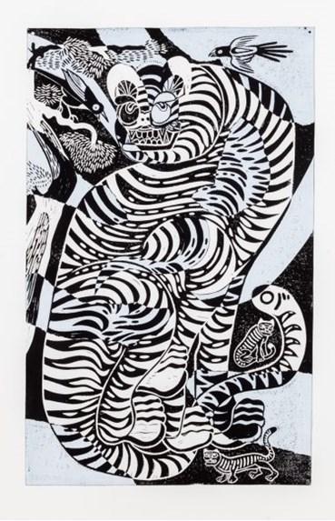 , Kour Pour, Tsugigami Tiger, 2021, 40535