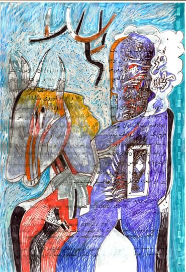 Painting, Mohammad Ali Baniasadi, Untitled, , 38146
