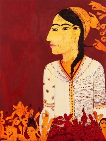 Samira Abbassy, Ghosts of her Migration, 2017, 0