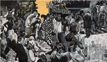 , Mehrdad Mohebali, Camping of Migrators, 2016, 8121