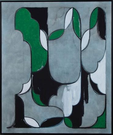 , Kamrooz Aram, Untitled (Arabesque Composition), 2020, 49146