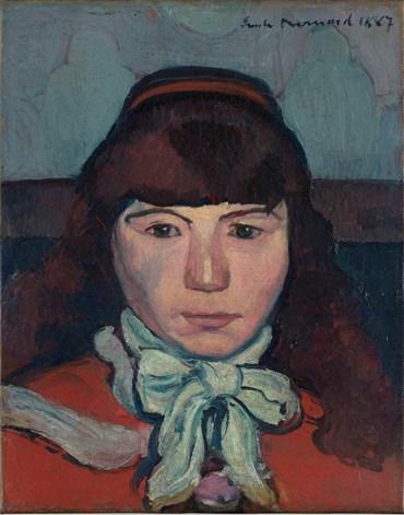 , Émile Bernard, Portrait de Marie Lemasson, 1887, 49434