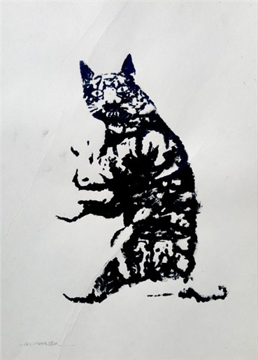 , Ali Malek, The Laugh of the Seated Cat, 2017, 13143
