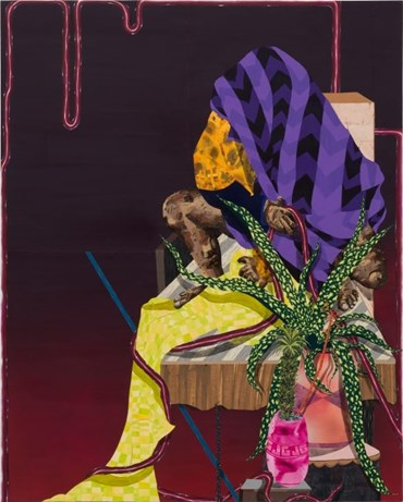 Amir H Fallah, First One to Trust Last One to Live, 2011, 10139