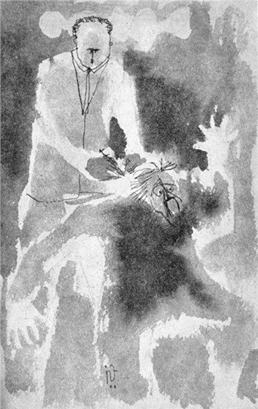 Works on paper, Morteza Momayez, Untitled, 1962, 15220